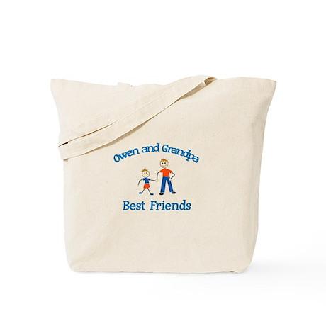 Owen & Grandpa - Best Friends Tote Bag