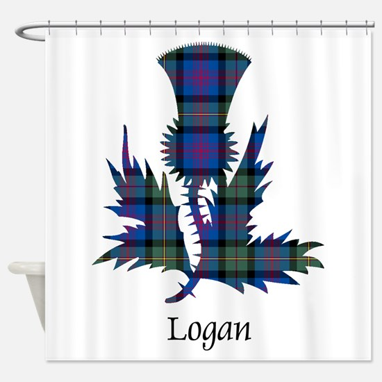 Thistle - Logan Shower Curtain