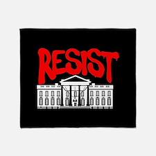 Resist White House Throw Blanket
