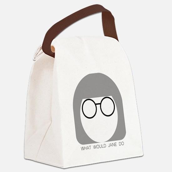 Unique Jacob Canvas Lunch Bag