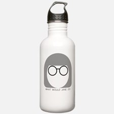 What Would Jane Do Water Bottle