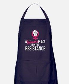 Womans Place in Resistance Apron (dark)
