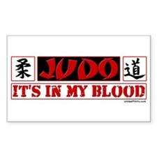 JUDO (IT'S IN MY BLOOD) Rectangle Decal