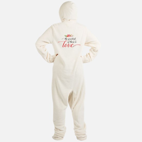 Greatest Love Footed Pajamas