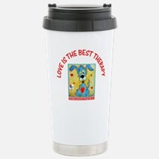 Unique Beautiful dogs Travel Mug