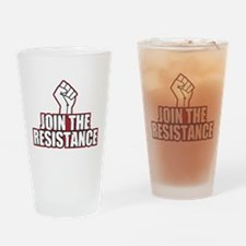 Join the Resistance Drinking Glass