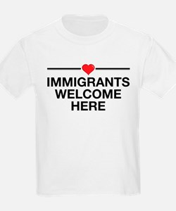 Immigrants Welcome Here T-Shirt