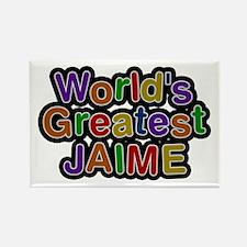 World's Greatest Jaime Rectangle Magnet