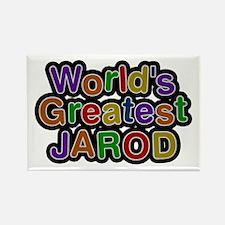 World's Greatest Jarod Rectangle Magnet