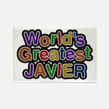 World's Greatest Javier Rectangle Magnet