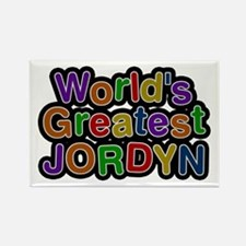 World's Greatest Jordyn Rectangle Magnet
