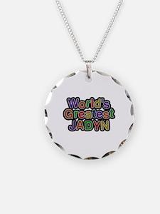 World's Greatest Jadyn Necklace Circle Charm