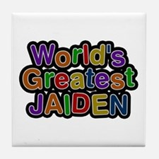 World's Greatest Jaiden Tile Coaster