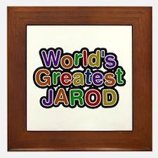 World's Greatest Jarod Framed Tile