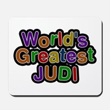 World's Greatest Judi Mousepad