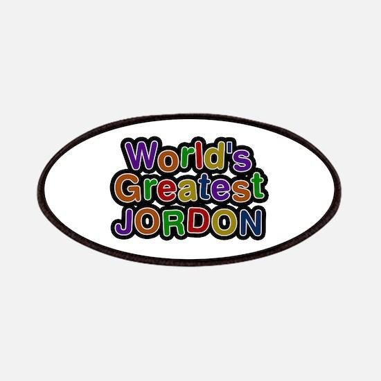 World's Greatest Jordon Patch