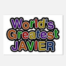 World's Greatest Javier Postcards 8 Pack