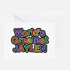 World's Greatest Jaylen Greeting Card
