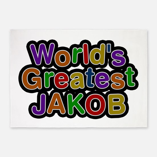 World's Greatest Jakob 5'x7' Area Rug
