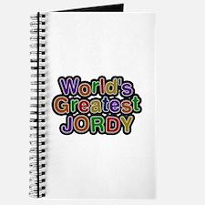 World's Greatest Jordy Journal