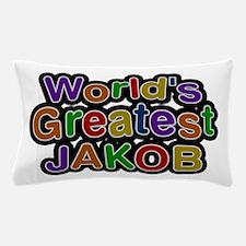 World's Greatest Jakob Pillow Case