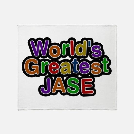 World's Greatest Jase Throw Blanket