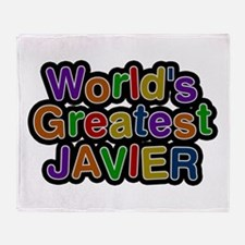 World's Greatest Javier Throw Blanket