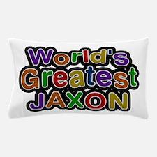 World's Greatest Jaxon Pillow Case