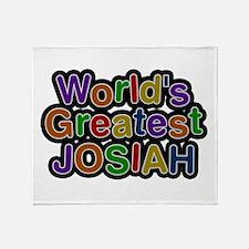 World's Greatest Josiah Throw Blanket
