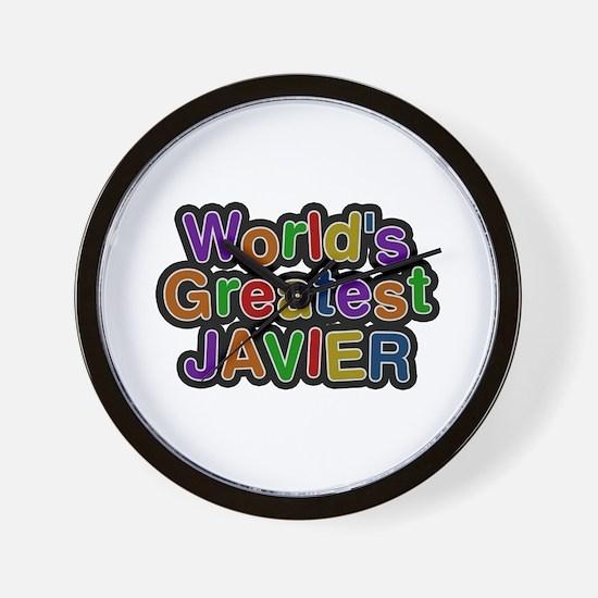 World's Greatest Javier Wall Clock