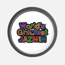 World's Greatest Jazmin Wall Clock