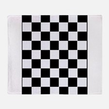 Checkered Throw Blanket