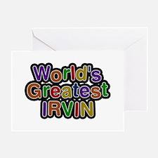 World's Greatest Irvin Greeting Card