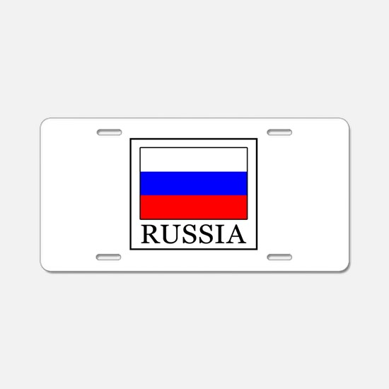 Russia Aluminum License Plate
