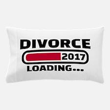 Divorce 2017 loading Pillow Case