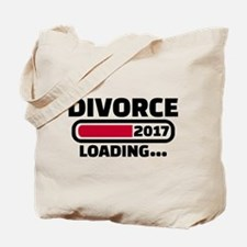 Divorce 2017 loading Tote Bag