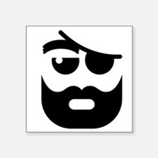 Pirate Face Sticker