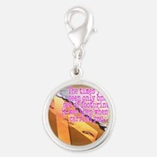 Breast cancer survivor. Lord carried you Charms