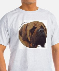Mastiff Ash Grey T-Shirt