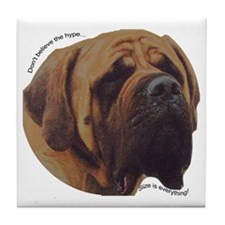 Mastiff Tile Coaster
