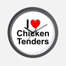 Chicken Tenders Wall Clock