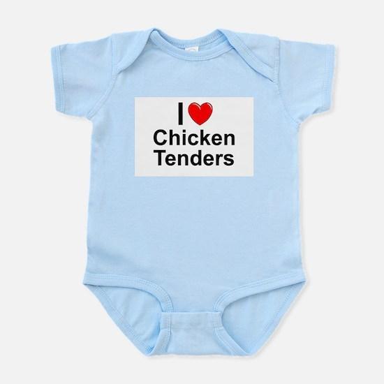 Chicken Tenders Infant Bodysuit