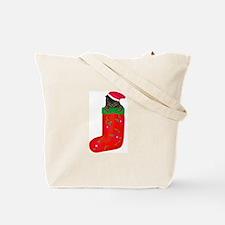 Christmas Kitty Tote Bag
