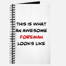 awesome foreman Journal