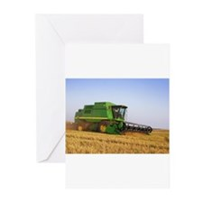 Combine in the Field Greeting Cards (Pk of 10)