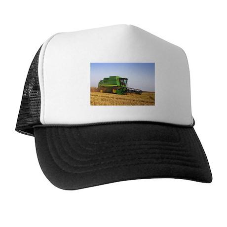 Combine in the Field Trucker Hat
