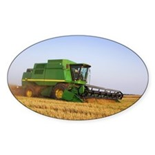 Combine in the Field Oval Decal