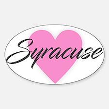 I Heart Syracuse Decal