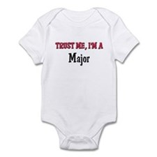 Trust Me I'm a Major Infant Bodysuit