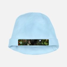 Cute, funny fairy in the wonderland baby hat